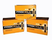 Duracell Procell Aaa Alkaline Batteries 72 (3 Boxes Of 24) Exp 5+ Yrs