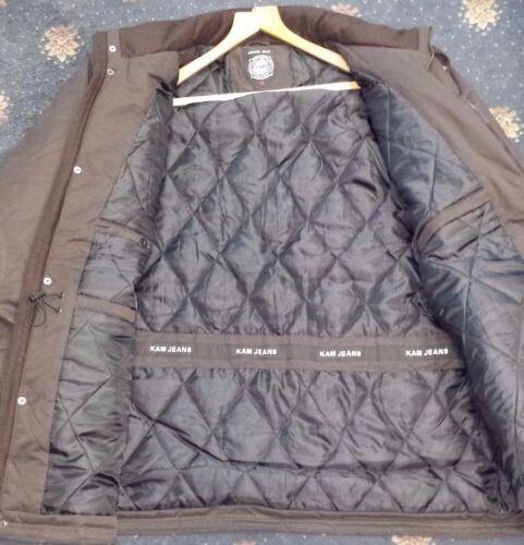 New Men/'s Mens Extra Big plus Tall Padded Coat Suede Finish Dark Olive 2XL  8X