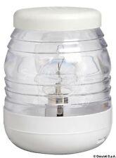 Classic 360 Degrees White Polycarbonate Masthead LED Light 12//24V 1.7W Osculati