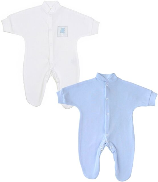 ce0285fc3 BabyPrem Premature Preemie Baby Clothes 2 X Sleepsuits Babygrows ...