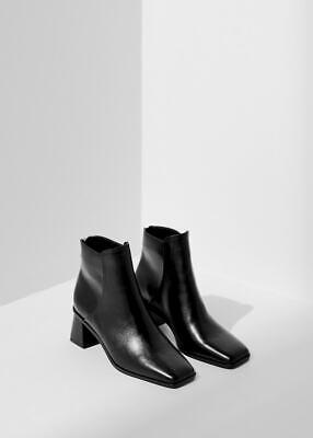 Mango Women's MNG Heel Leather Ankle