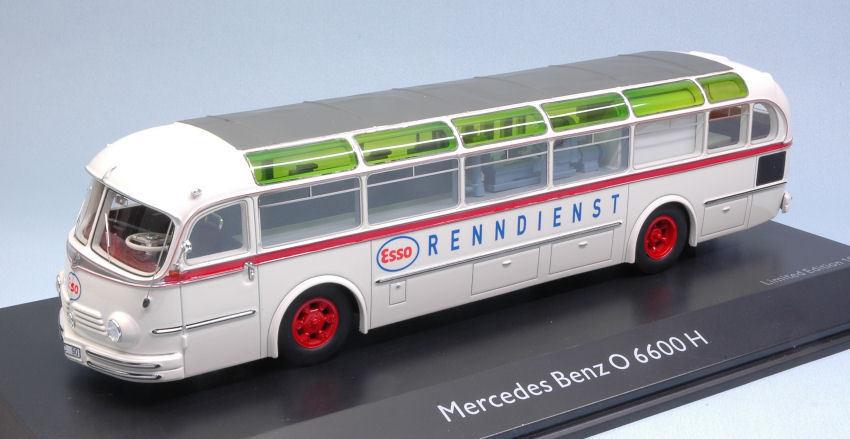 Mercedes O6600 O6600 O6600 H  ESSO RENNDIENST  Bus 1 43 Model SCHUCO c7a5bb