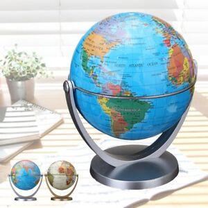 360-Erde-Ozean-Globen-Blau-Rotierende-Globus-Welt-Geographie-Karte-Desktop