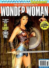 Entertainment Weekly Magazine 2017 Gal Gadot Ultimate Guide WONDER WOMAN