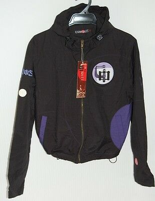 "Honey Brand New Tanoshii Sportwear ""omosa"" Rain Jacket With Hood Size M Coats, Jackets & Vests"