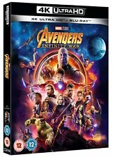 Avengers Infinity War  (4K Ultra HD + Blu-ray) [UHD]