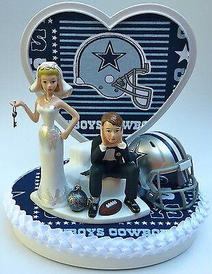 Strange Wedding Cake Topper Dallas Cowboys Themed Football Ball Chain Personalised Birthday Cards Paralily Jamesorg