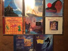 Walt Disney [8 CD Soundtrack] Little Mermaid Lion King Aladdin Beauty and Beast