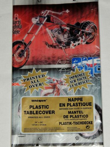 AMERICAN CHOPPER   1-PLASTIC TABLECOVER    PARTY SUPPLIES