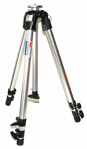 Bogen Manfrotto 3001N Tripod with Low Angle Adapter - LOOKS GOOD & WORKS FINE !!