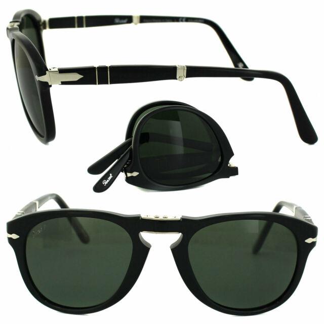 Persol Sunglasses 0714 24//31 Havana Green Folding Steve McQueen 52mm