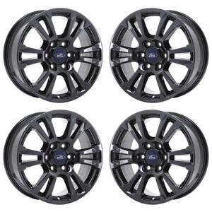 Ford F150 Rims >> 18 Ford F150 Truck Black Chrome Wheels Rims Factory Oem 2018 2019