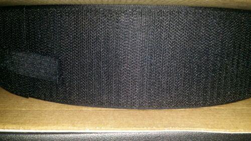 "Loop Individual Strips Tape 2/""x75/' Black VELCRO BRAND VEL138"