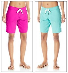 Kanu Surf Womens Marina Solid Stretch Boardshort Board Shorts