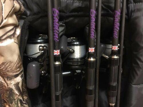4 x canne à pêche noms personnalisé à votre nom choix de Police 4 X autocollants DECA