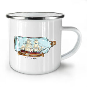 Make A Wish NEW Enamel Tea Mug 10 oz | Wellcoda