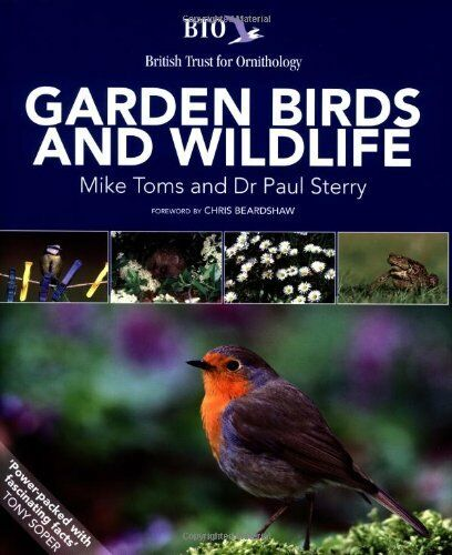 1 of 1 - BTO Garden Birds and Wildlife,Dr. Paul Sterry,Mike Toms