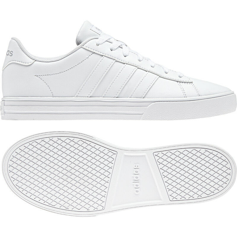 Adidas DAILY 2.0 Basketball MENS TRAINERS White   White