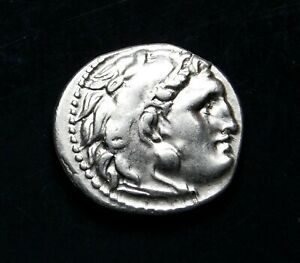 Alexander-the-Great-336-323-BC-Stunning-Drachm-Ancient-Greek-Silver-Coin
