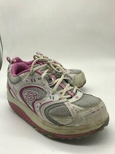 Skechers-Shape-Ups-Breast-Cancer-Awareness-Toning-Shoe-12309-Women-039-s-Size-8