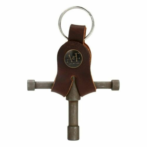 A/&F Drum Key with Leather Holster