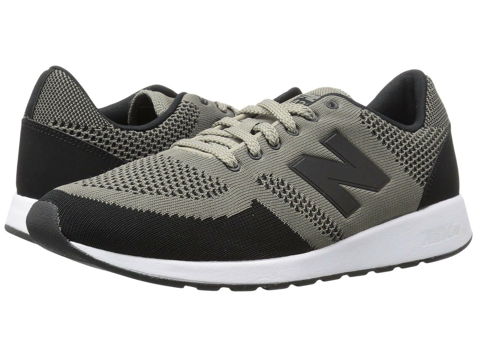New Balance Mens Athletic Sneakers shoes Classic Mesh Upper Taupe Black MRL420TA