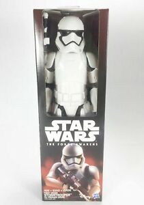 Hasbro Star Wars The Force awakens first order Stormtrooper figura de acción-moc nuevo