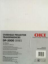 OverHead Projector Transparencies OKI/ALPS, 30 fogli, formato A4