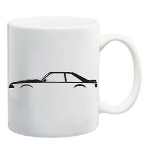 FORD-Mustang-034-foxbody-034-Silhouette-11-OZ-Tazza-da-caffe-5-0-Auto-Da-Corsa-Performance
