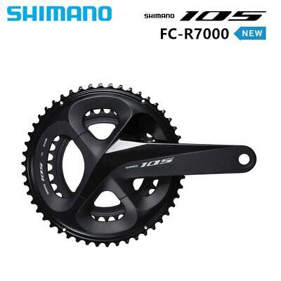 SHIMANO 105 FC R7000 2x11s 50x34//52-36//53x39T 170//172.5//175mm Crankset OE