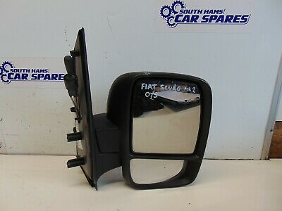 Fiat Scudo Mk2 2007-/> Wing Mirror Glass Pair Left /& Right