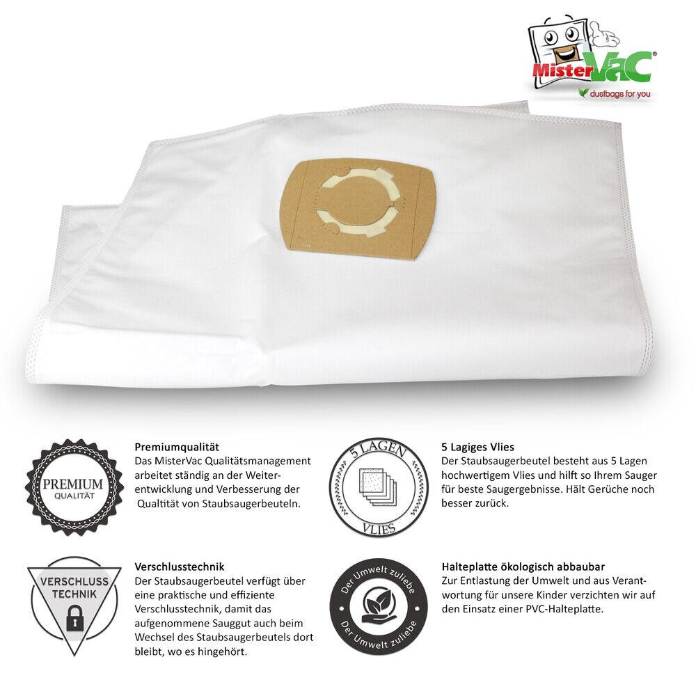 5 x Staubsaugerbeutel Vlies passend für Ubbink VacuPro Cleaner Maxi