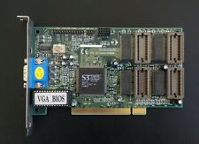 Scheda Video S3 VIRGE N1E3BD VGA BIOS 86C325 ON BOARD EDO MEMORY icuvga-gw503b