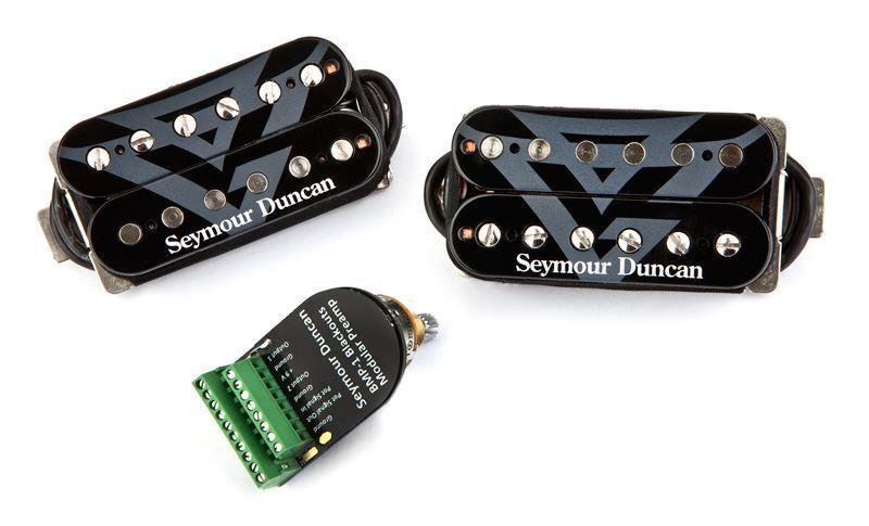 Seymour Duncan Gus G fuego negroouts-pasiva Humbucker Set con System System System Preamp  el mas reciente