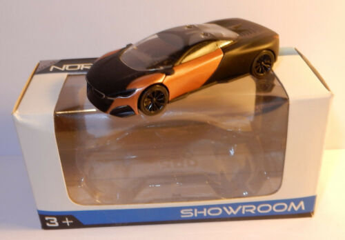 c NOREV 3 INCHES 1//54 PEUGEOT CONCEPT CAR ONYX 2012 BICOLORE IN BOX roues noires