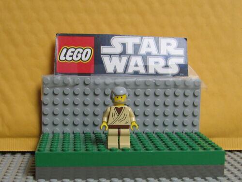 """--7110--4501  /"""" MINI FIG  /""""  OBI WAN KENOBI STAR WARS LEGO LOT  MINIFIGURE-"""