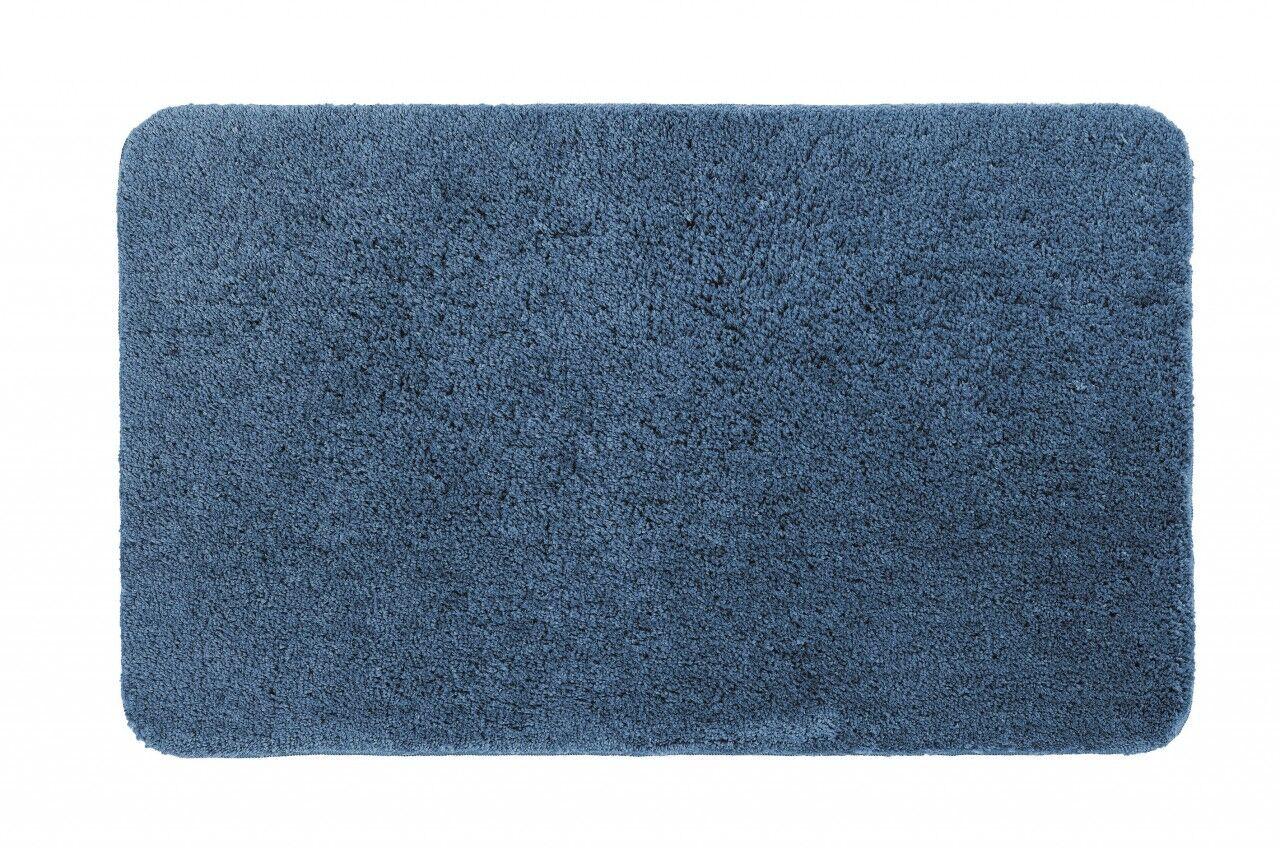 Schöner Wohnen Badteppich Santorin Uni Blau