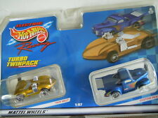 Mattel ~ Tyco 440-X2 Twin Mill Slot Car and Hot Wheels Truck Twin Pack ~ 1999