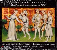 Je voy le bon tens venir / Lazarevitch, Les Musiciens de Saint-Julien - CD