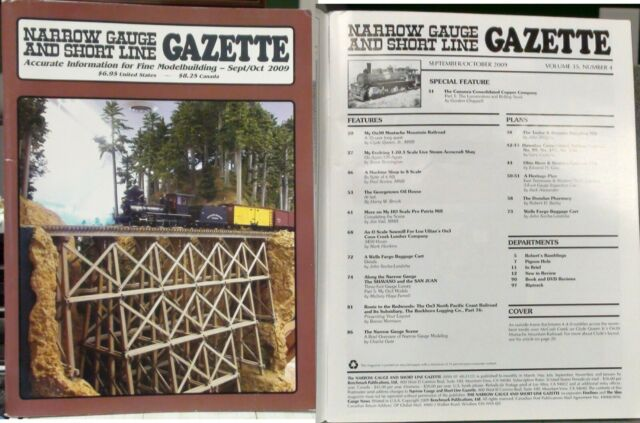 2009 Sep/Oct Narrow Gauge & Short Line Gazette Magazine