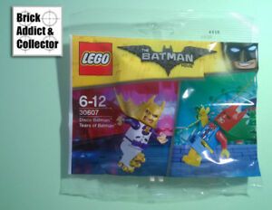 LEGO ? Polybag Batman Movie Figurine Disco Batman 30607 SH376 SH377 Neuf scelle