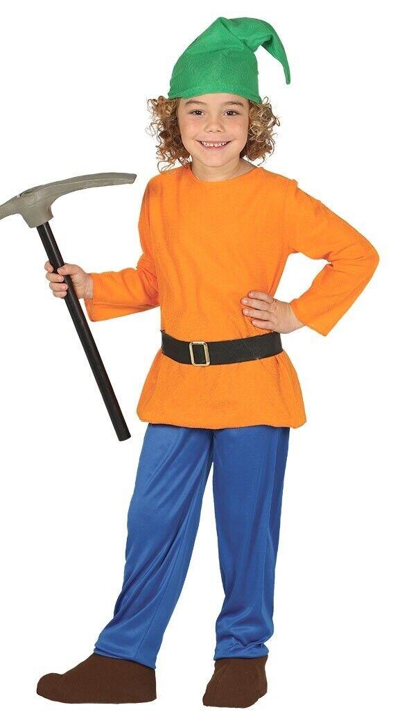 Jungen Mädchen Orange Zwerg Gnome Welttag Welttag Welttag Des Buches