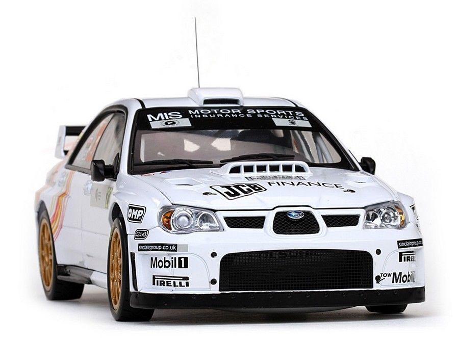 Sunstar 1 18 Subaru Impreza WRC07 Jones C Jenkins Tour de Corse Rallye de France