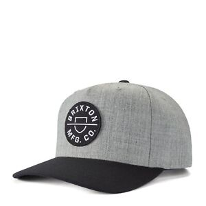 BRIXTON-CREST-MP-SNAPBACK-CAP-NEU-HEATHER-GREY-BRIXTON-SUPPLY