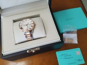 Tiffany-and-Co-Mens-Atlas-Chronograph-Stainless-Steel-18k-Watch