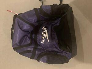 Large-Speedo-Purple-Waterproof-Swim-Backpack-Bag