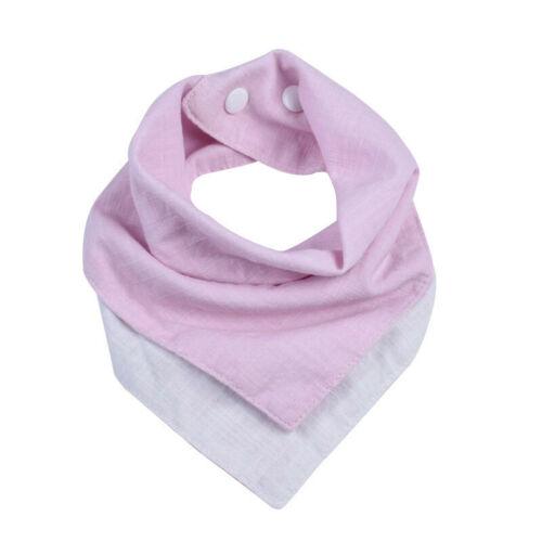 Baby Feeding Head Scarf Towel Bib Boy Girl Bandana Saliva Triangle Dribble Towel