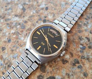 Vintage-Citizen-Seven-Star-V2-4-720116-K-23-Jewels-Automatic-June-1971-KANJI