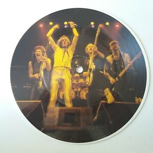Saxon-And-The-Bands-Played-On-Vinyl-7-034-Picture-Disc-Single-Original-EX