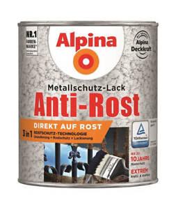Alpina-Metallschutz-Lack-Hammerschlag-dunkelbraun-750-ml
